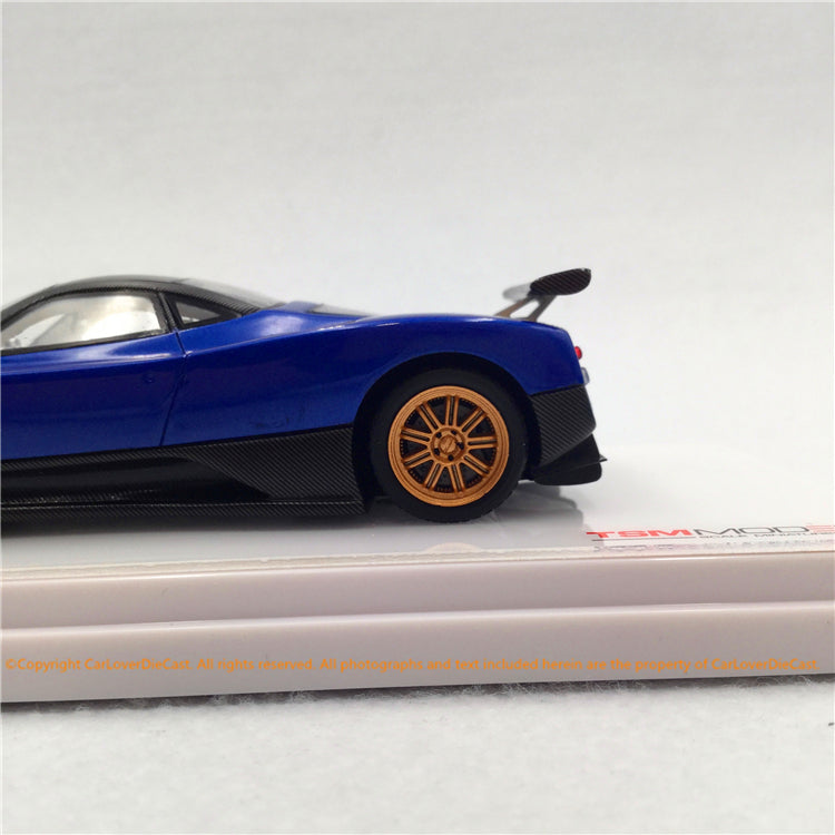 TSM 1:43 Pagani Zonda F 2006 Blu Argentina (TSM430335) resin car model available now