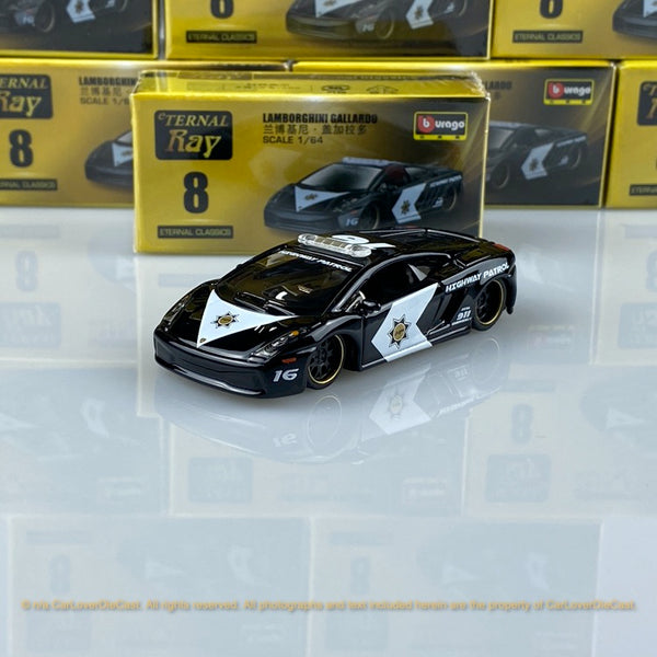 Bburago 1:64 Lamborghini Gallardo 15494#8  diecast car model