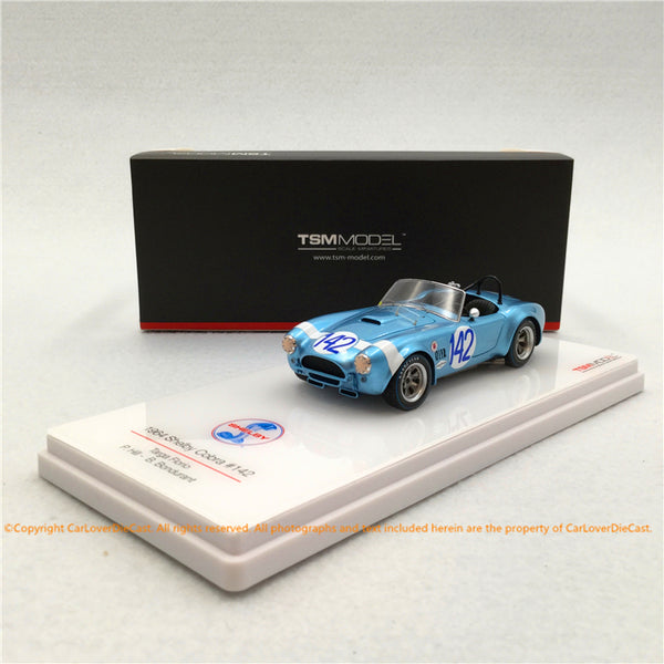 TSM 1:43 Shelby Cobra #142 1964 Targa Florio (TSM430350) resin car model available now