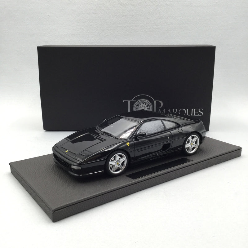 Top Marques 1:18  355 Black (TOP96C) Resin Car Model available Now