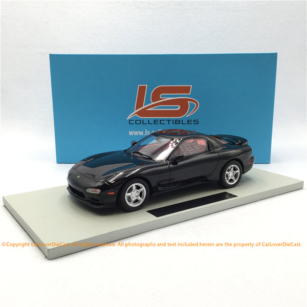 LS Collectibles 1:18 Mazda RX7 1994 (Black) LS042C disponible en septembre 2019 en précommande
