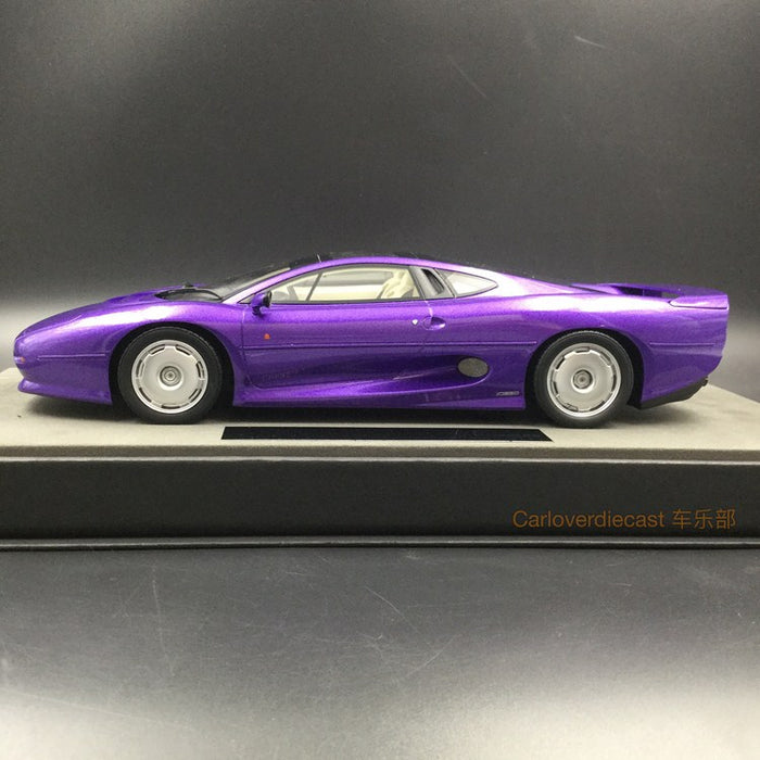 Top Marques - Jaguar 220 Dark Purple resin scale 1:18 (TOP39F)  available now