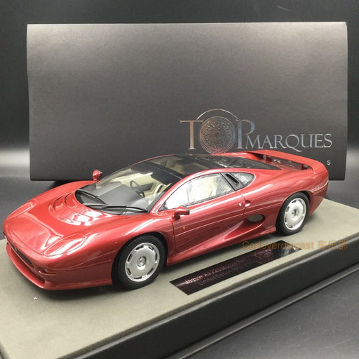 Top Marques - Jaguar 220 Dark Red resin scale 1:18 (TOP39E) available now