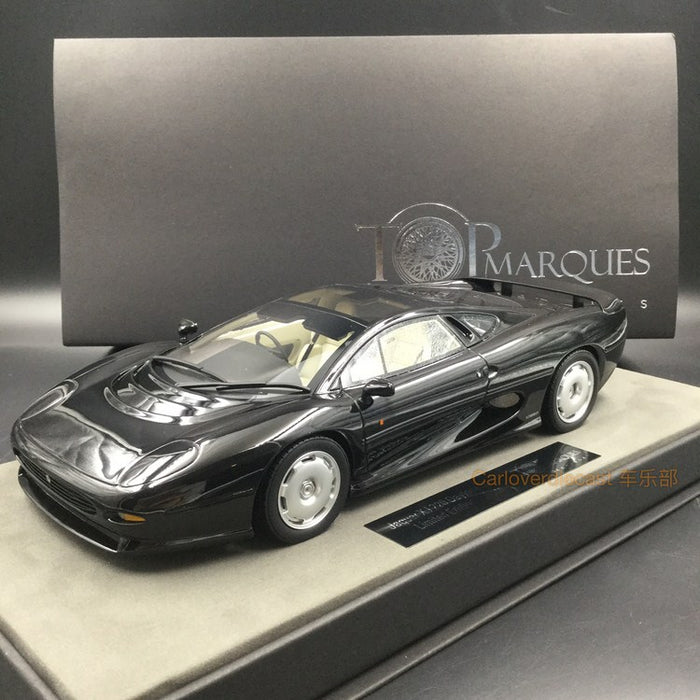 Top Marques - Jaguar 220 Black resin scale 1:18 (TOP39D)  available now