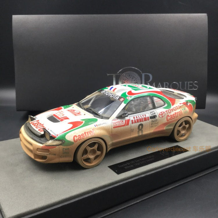 Top Marques - Toyota Celica GT4 st185 #8 Winner 1994 Dirt Version resin scale 1:18 (TOP34CD) available now