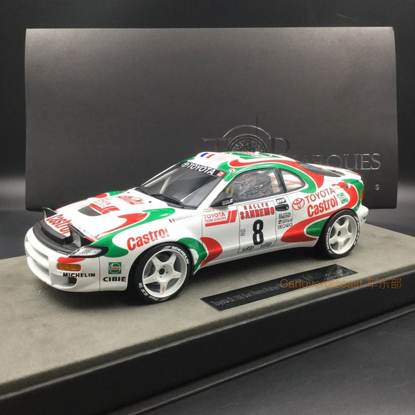 Top Marques - Toyota Celica GT4 st185 #8 Winner 1994  resin scale 1:18 (TOP34C) available now