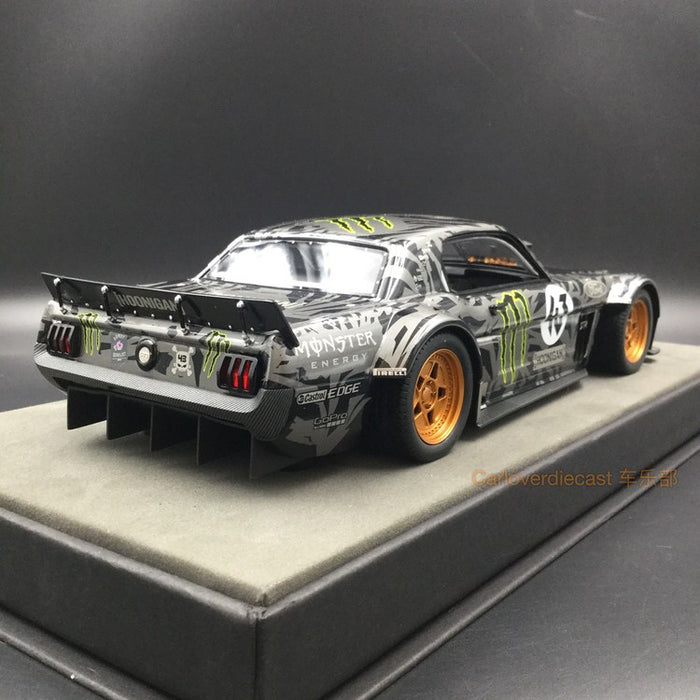 Top Marques - Ford Mustang 1965 Hoonigan resin scale 1:18 (TOP48A) available now