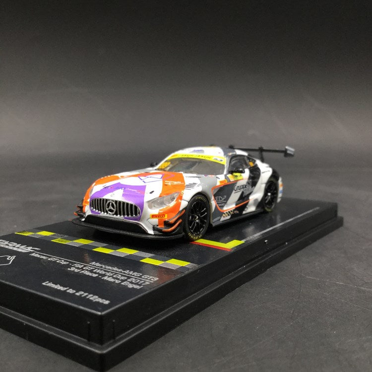 Tarmac Works 1:64 Mercedes AMG GT3 FIA GT World Cup 2018 3rd Place Maro Engel (T64-008-MGP17ENG) diecast model available now