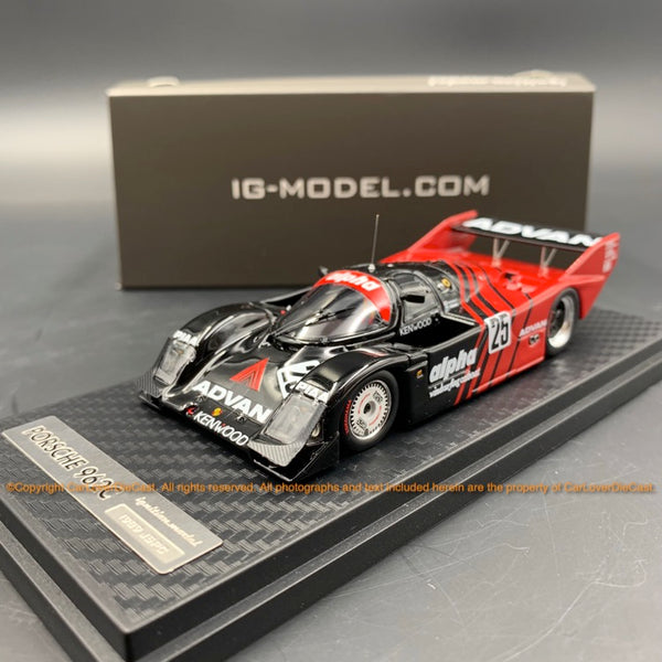 Ignition Model ADVAN alpha Porsche 962C (#25) 1989 JSPC  resin scale 1:43  (IG1201)