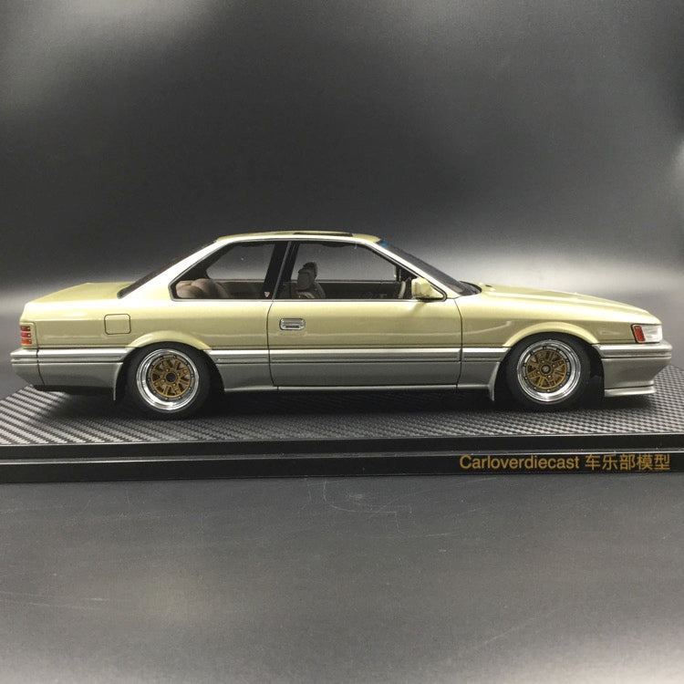 Ignition Model Nissan Leopard 3.0 Ultima (F31) Gold resin Scale 1:18 (IG1013) free display cover