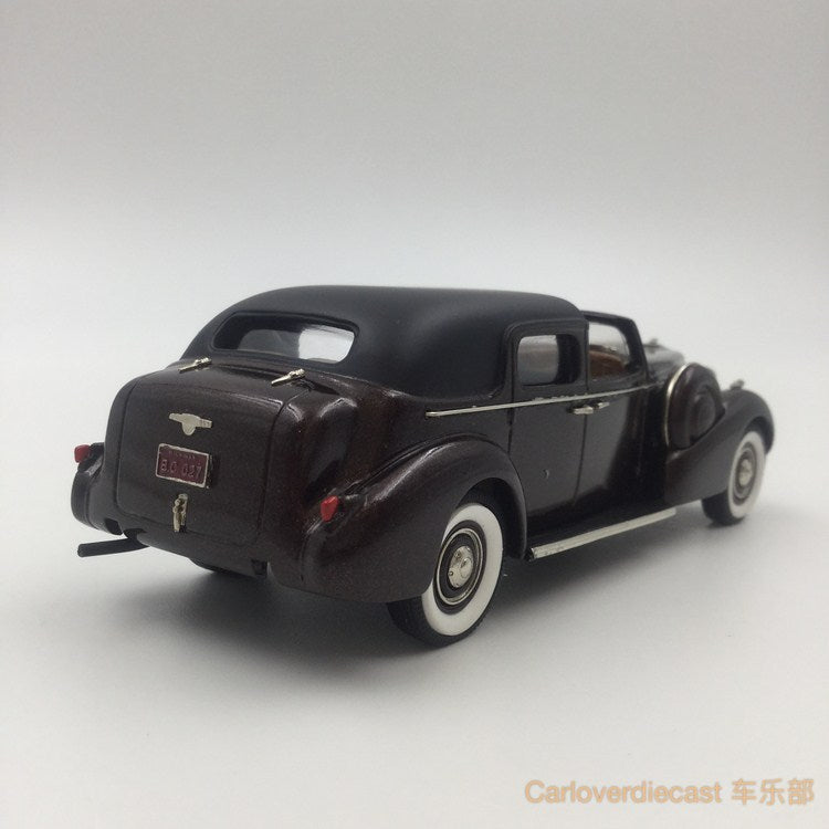 "Brooklin Models - 1938 BUICK LIMITED ""DERHAM"" TOWN CAR HandMade White Metal Scale 1:43 Available Now (BC027)"