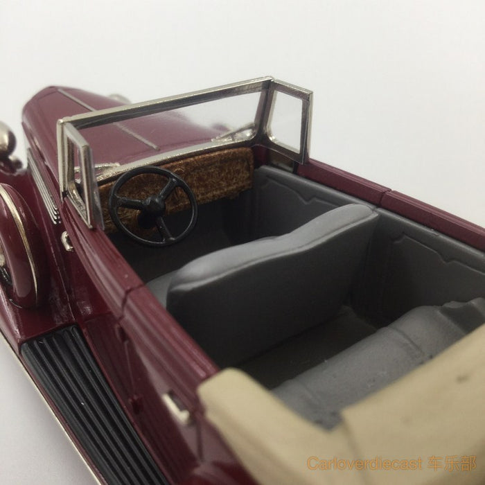 Brooklin Models - 1934 BUICK SERIES 60 4-DR CONV. PHAETON 68-C HandMade White Metal Scale 1:43 Available Now (BC023)