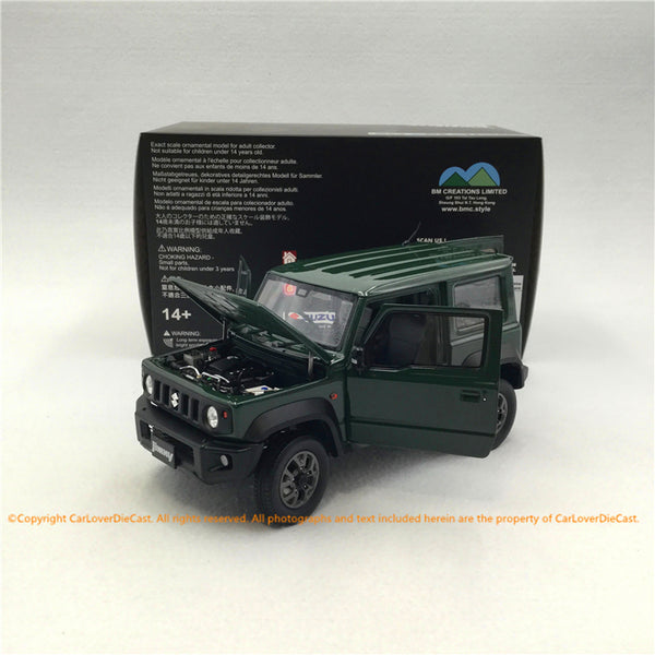 BM Creations 1:18 Suzuki Jimny Sierra Jungle Green (RHD )  limited 999 units (18B0005) available on October 15th 2020 Pre order now