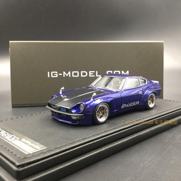 Ignition Model  PANDEM S30 Z Blue Metallic (RA-Wheel) Resin Scale 1:43 (IG1247)
