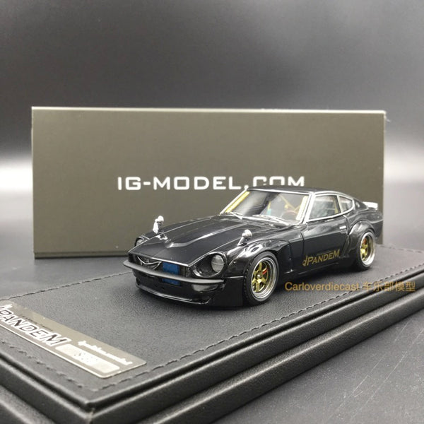 Ignition Model  PANDEM S30 Z Black (RA-Wheel) Resin Scale 1:43 (IG1246)