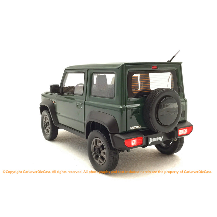 BM Creations 1:18 Suzuki Jimny Sierra Jungle Green (LHD )  limited 999 units (18B0006) available on October 15th 2020 Pre order now