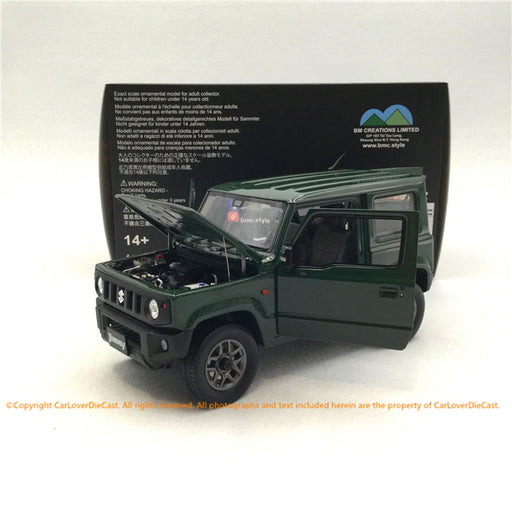 BM Creations 1:18 Suzuki Jimny (JB64)  Jungle Green (RHD )  limited 999 units (18B0002) )