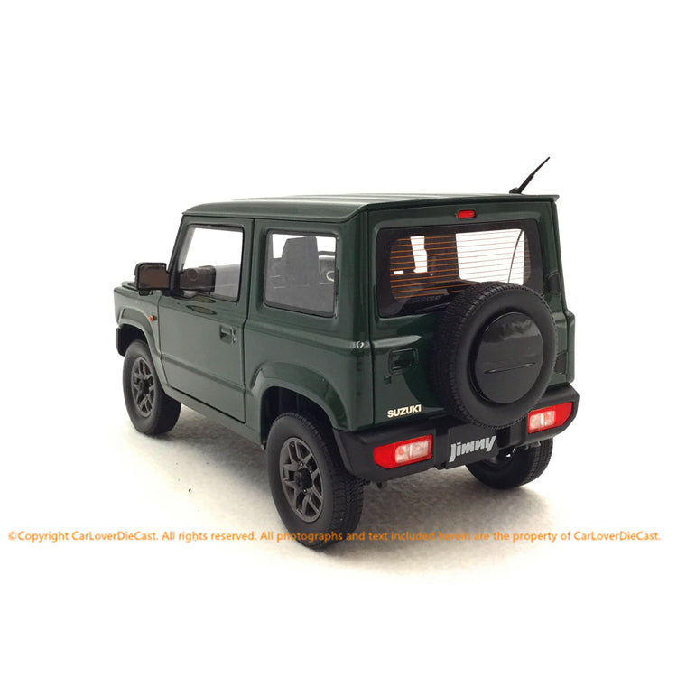 BM Creations 1:18 Suzuki Jimny (JB64)  Jungle Green (RHD )  limited 999 units (18B0002) available on October 15th 2020 Pre order now