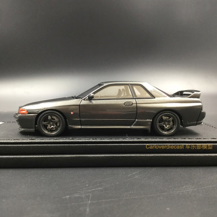 Ignition Model Nissan Skyline GT-R Nismo (R32) Gun Metallic Resin Scale 1:43 (IG1281) Limtied edition 196pcs