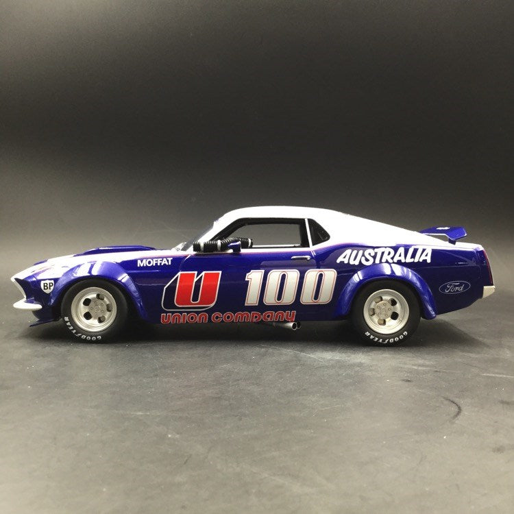 RAR 1:18 U100 1969 Ford Boss 302 Trans Am Mustang - Allan Moffat (RAR18003) resin car model