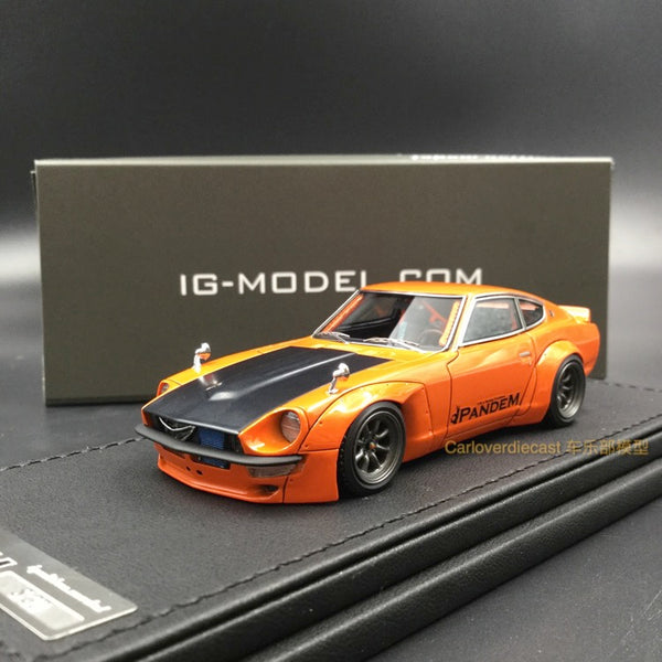 Ignition Model  PANDEM S30 Z Orange (W-Wheel) Resin Scale 1:43 (IG1245)