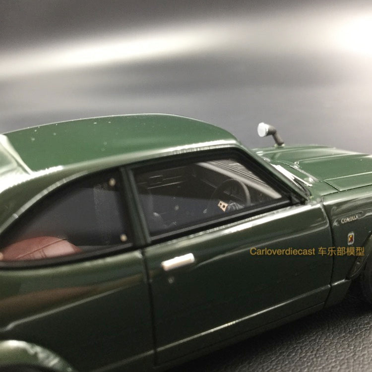 Ignition Model Toyota Corolla Levin (TE27) Green (H-Wheel) Resin Scale 1:43 (IG0728)