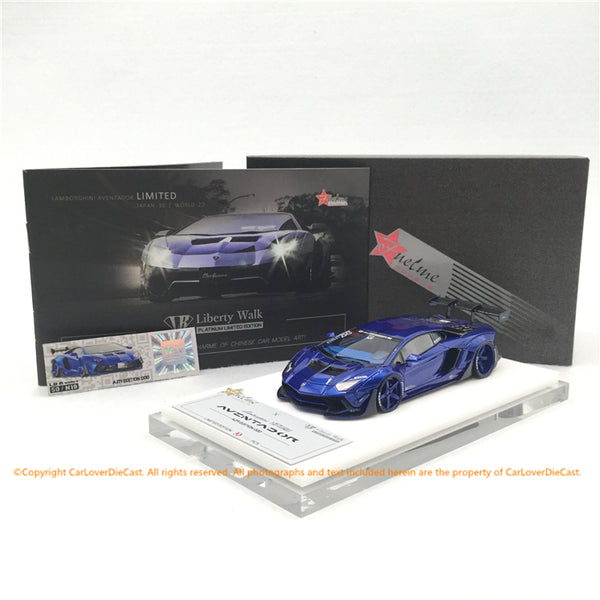 Fuelme 1:43 Liberty Walk Aventador 50th Limited edition (AZR edition 000) FM43007.50LE.JN18a  resin car model available NOW