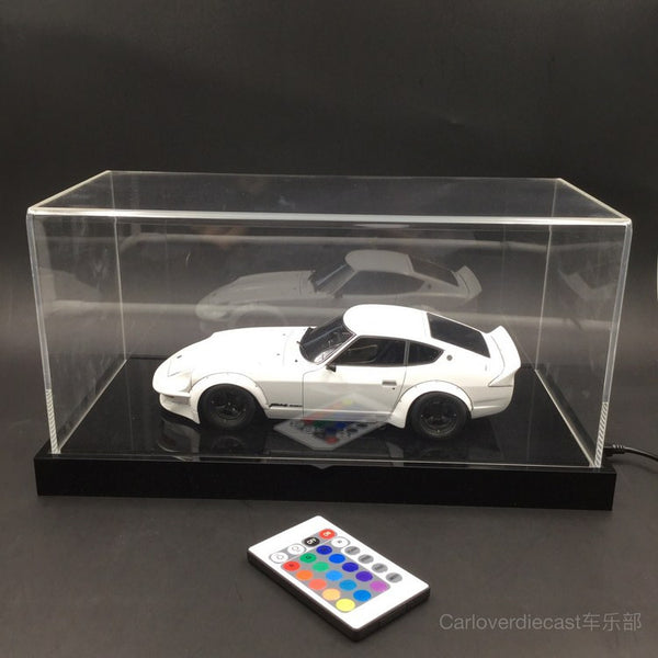 (Display Case) 1:18 with 12 mode / color LED light based