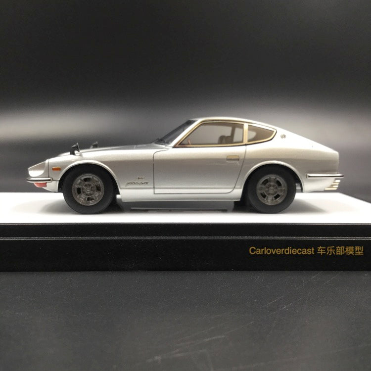 Makeup Nissan Fairlady Z432 (PS30) 1969  resin scale 1:43 (Carlo Silver) VM119C