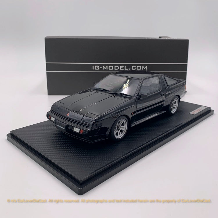 Ignition Model 1:18 Mitsubishi STARION 2600 GSR-VR (E-A187A) Black (IG1791)