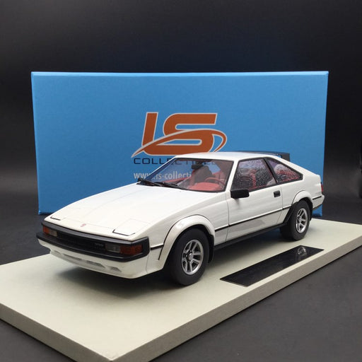 LS Collectibles 1:18 Toyota Celica-Supra MKII  (LS032D) White resin car model available now