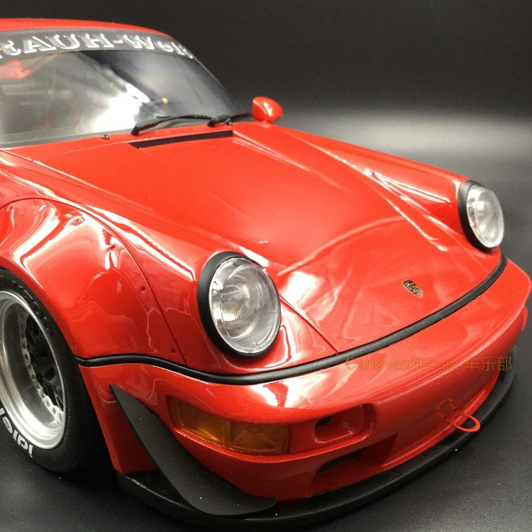 GT Spirit -   RWB 964  resin Scale 1:12 in Red (KJ024) available Now