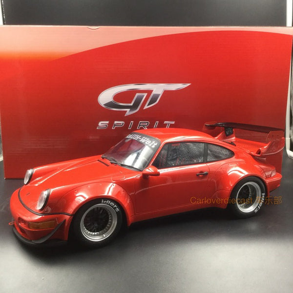 GT Spirit - Porsche RWB 964  resin Scale 1:12 in Red (KJ024) available Now