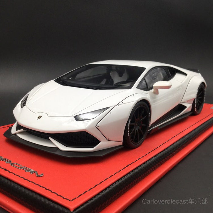 ... Collection)Lamborghini Huracan After Market Resin Scale 1:18 In Bianca  Monocerus ...