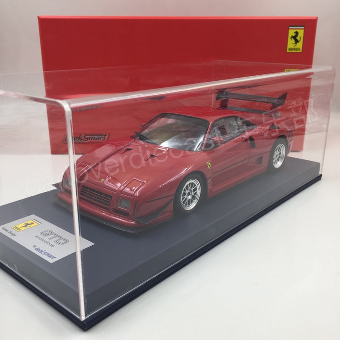 Looksmart - Ferrari GTO evoluzione resin Scale  1:18 in Red (front spoiler wings)