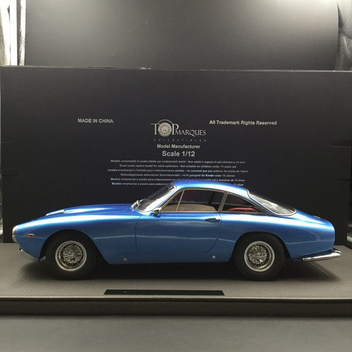 Top Marques - Ferrari 250 LUSSO (Metallic Blue ) 1:12 resin model (TM12-12C) available now