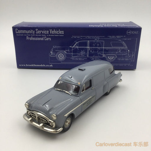 "Brooklin Models -  1938 FLXIBLE – BUICK STERLING AMBULANCE ""FRIENDSHIP FIRE CO""  HandMade White Metal Scale 1:43 Available Now (CSV015)"