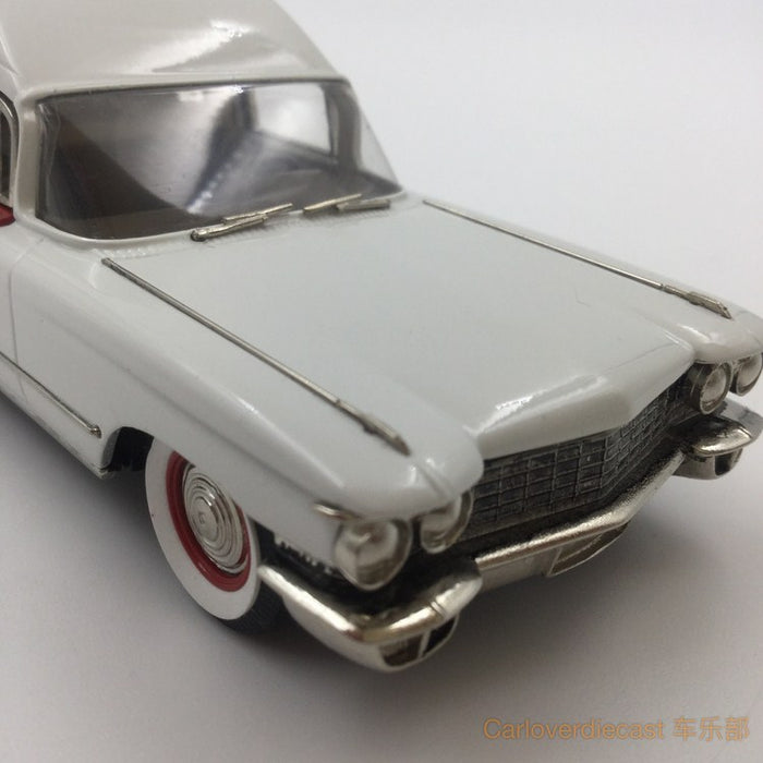 "Brooklin Models - 1960 MILLER – METEOR CADILLAC ""GUARDIAN"" AMBULANCE HandMade White Metal Scale 1:43 Available Now (CSV016a)"