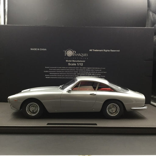 Top Marques - Ferrari 250 LUSSO (Grey Metallic) 1:12 resin model (TM12-12E) available now