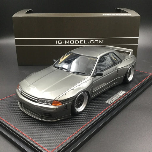 Ignition Model 1:18 Pandem GT-R (R32) Gun Gray Metallic  Resin Model (IG1272)  available now