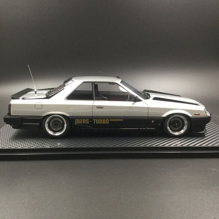 Ignition Model  Nissan Skyline 2000 RS-X Turbo-C (R30) Resin Scale 1/18 Model (IG0991) available now
