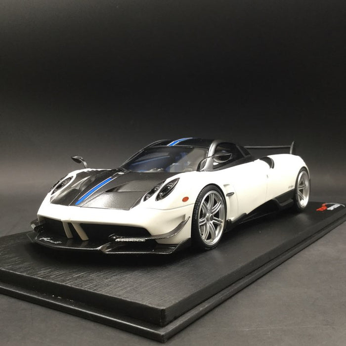 (Topspeed) Pagani Huayra BC Matte White Geneva Int'L motor show  Resin Scale 1:18 Limited 999 pcs (TS0099) available Now