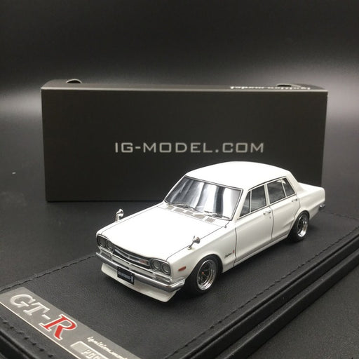 Ignition Model 1:43 Nissan Skyline 2000 GT-R (PGC10) White resin model (IG1596) available now