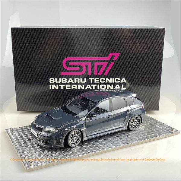 AGU model 1:18 Subaru Impreza STi 2007 (Grey Metallic ) AGU-022CR