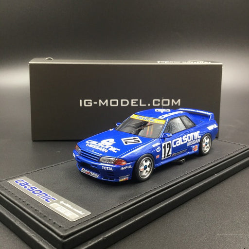 Ignition Model 1:43 Nissan Calsonic Skyline #12 1993 JTC resin model (IG1594) available now