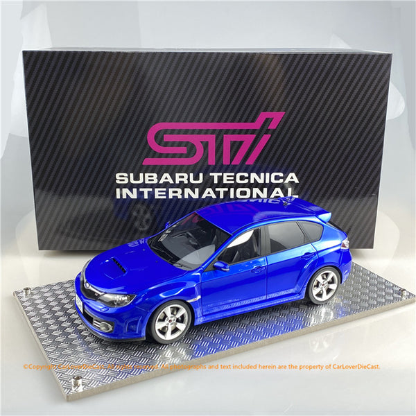 AGU model 1:18 Subaru Impreza STi 2007 (pearl blue) AGU-020CR  Available now
