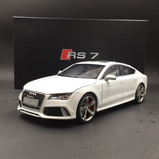 J's Models 1:18 Audi RS7 Sportback (white with silver side Mirror)diecast full open Limited 499 pcs (KF001104WS) available  now