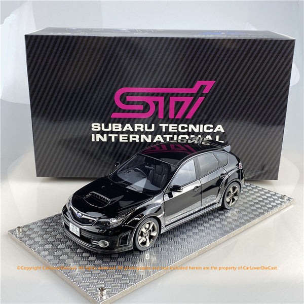 AGU model 1:18 Subaru Impreza STi 2007 (CRYSTAL BLACK) AGU-021CR  Available now now