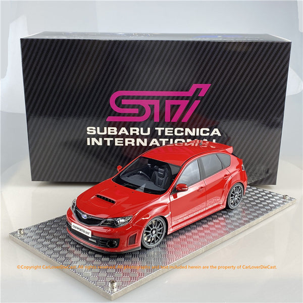 AGU model 1:18 Subaru Impreza STi 2007 (Pure Red) AGU-023CR  Available now
