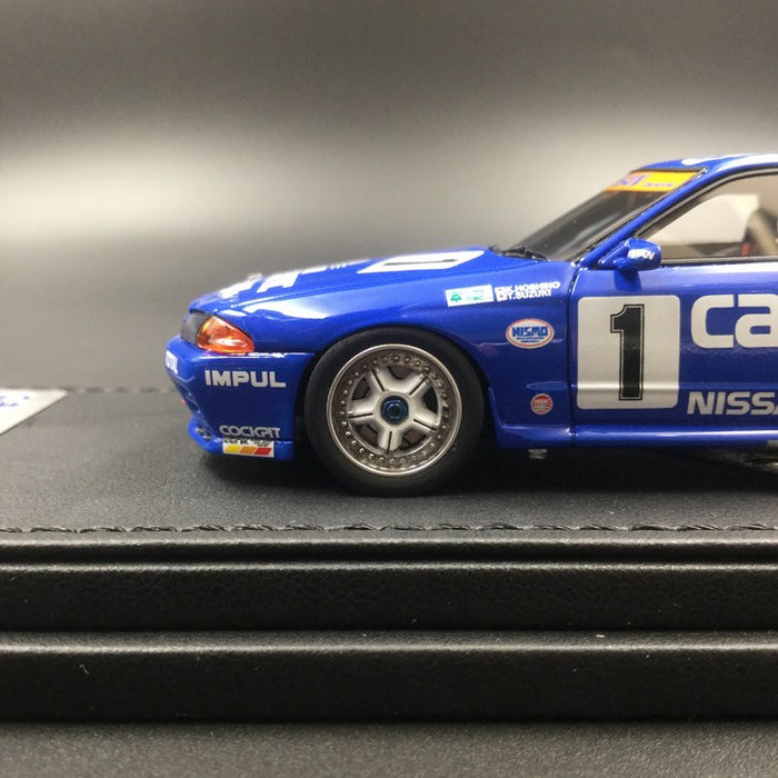 Ignition Model 1:43 Nissan Calsonic Skyline #1 1991 JTC resin model (IG1593) available now